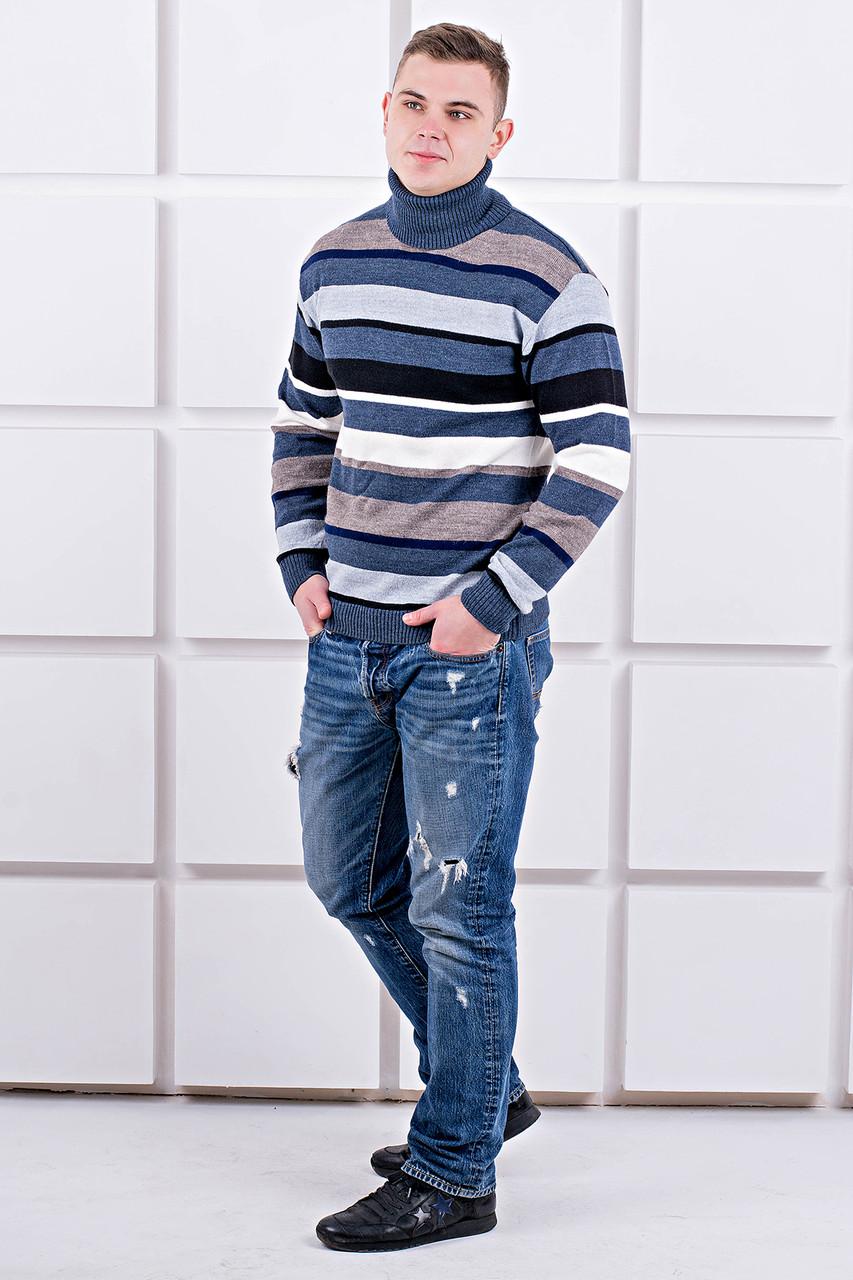 Мужской свитер Марсель хомут / размерный ряд 40,42,44,46,48,50