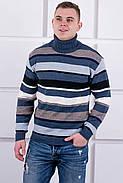 Мужской свитер Марсель хомут / размерный ряд 40,42,44,46,48,50, фото 4