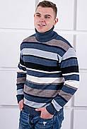 Мужской свитер Марсель хомут / размерный ряд 40,42,44,46,48,50, фото 5