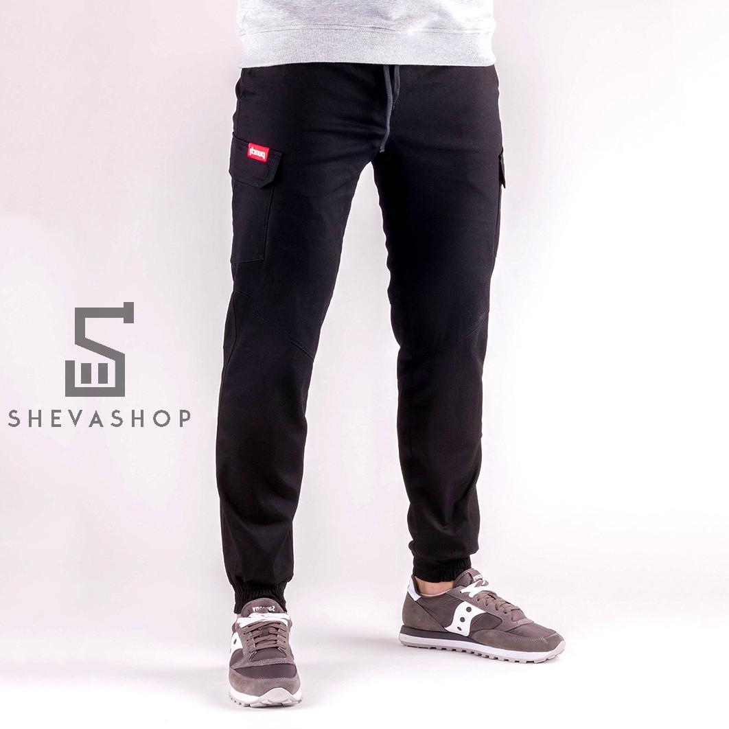 d118235c Тёплые брюки карго мужские Punch Cargo Winter Rush черные - ShevaShop -  одежда родом из Украины