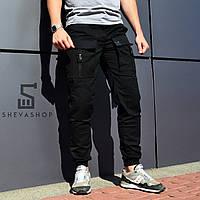 Мужские штаны карго черные в Украине. Сравнить цены 501a91f746df1