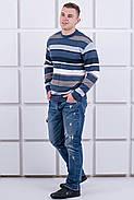 Мужской свитер Марсель круглое горло / размерный ряд 40,42,44,46,48,50, фото 3