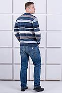 Мужской свитер Марсель круглое горло / размерный ряд 40,42,44,46,48,50, фото 4