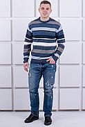 Мужской свитер Марсель круглое горло / размерный ряд 40,42,44,46,48,50, фото 5