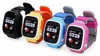 Детские часы с GPS трекером Smart Baby Watch Q90S (черные , желтый ,синие , розовые ,темно-синий)