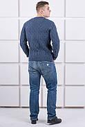 Мужской свитер Лаврентий / размерный ряд 48,50 / цвет темно серый, фото 5