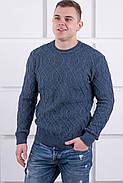 Мужской свитер Лаврентий / размерный ряд 48,50 / цвет темно серый, фото 2