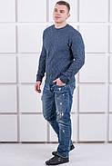 Мужской свитер Лаврентий / размерный ряд 48,50 / цвет темно серый, фото 3