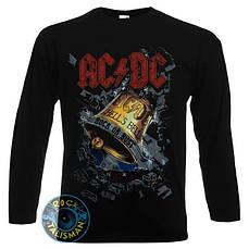 Футболка длинный рукав AC/DC Hell's Bell (колокол)