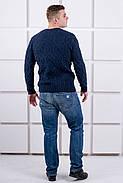 Мужской свитер Лаврентий / размерный ряд 48,50 / цвет синий, фото 2