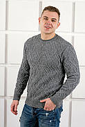Мужской свитер Лаврентий / размерный ряд 48,50 / цвет серый, фото 2