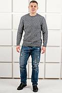 Мужской свитер Лаврентий / размерный ряд 48,50 / цвет серый, фото 5