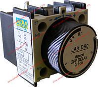 Блок задержки для магнитного пускателя БЗ-22 (LA2-DТ2) (0,1-30,0с Вкл)
