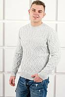 Мужской свитер Лаврентий / размерный ряд 48,50 / цвет белый