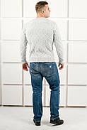 Мужской свитер Лаврентий / размерный ряд 48,50 / цвет белый, фото 2