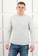 Мужской свитер Лаврентий / размерный ряд 48,50 / цвет белый, фото 3
