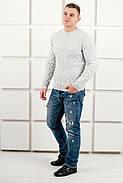 Мужской свитер Лаврентий / размерный ряд 48,50 / цвет белый, фото 4