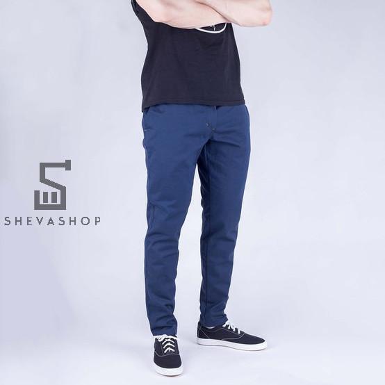 Брюки чинос мужские Milk синие XXL (36)