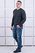 Мужской теплый свитер Василий / размерный ряд 46,48,50, фото 5