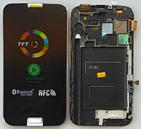 Дисплей + тачскрин + рамка для SAMSUNG N7100 Galaxy Note 2 White