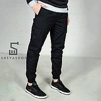 Мужские штаны карго Feel and Fly - черные