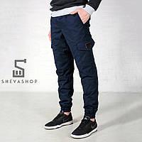 Мужские штаны карго Feel and Fly - темно-синие