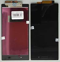 Дисплей + тачскрин для SONY XPERIA Z1/C6902/L39h Black