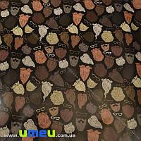 Упаковочная бумага Борода, Черная, 70х100 см, 1 лист (UPK-023537)