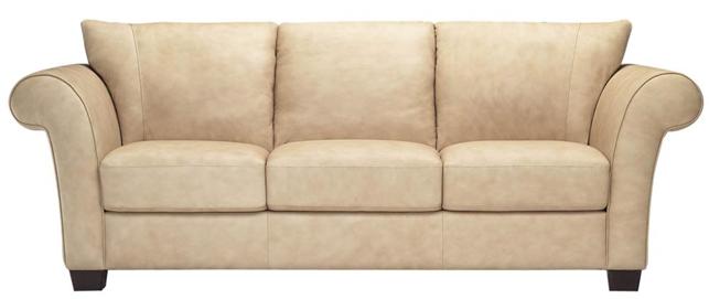 """Трехместный кожаный диван """"Softy"""" (Софти) (232 см)"""