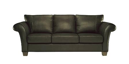 """Трехместный кожаный диван """"Softy"""" (Софти) (232 см), фото 2"""