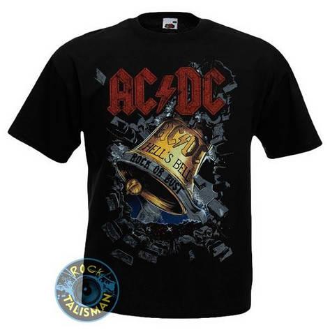 Футболка AC/DC Hell's Bell (колокол), фото 2