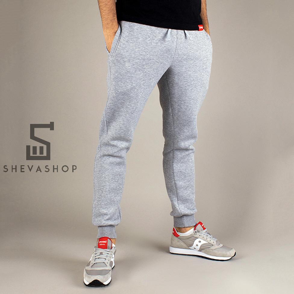 Теплые спортивные штаны PUNCH - Jog grey