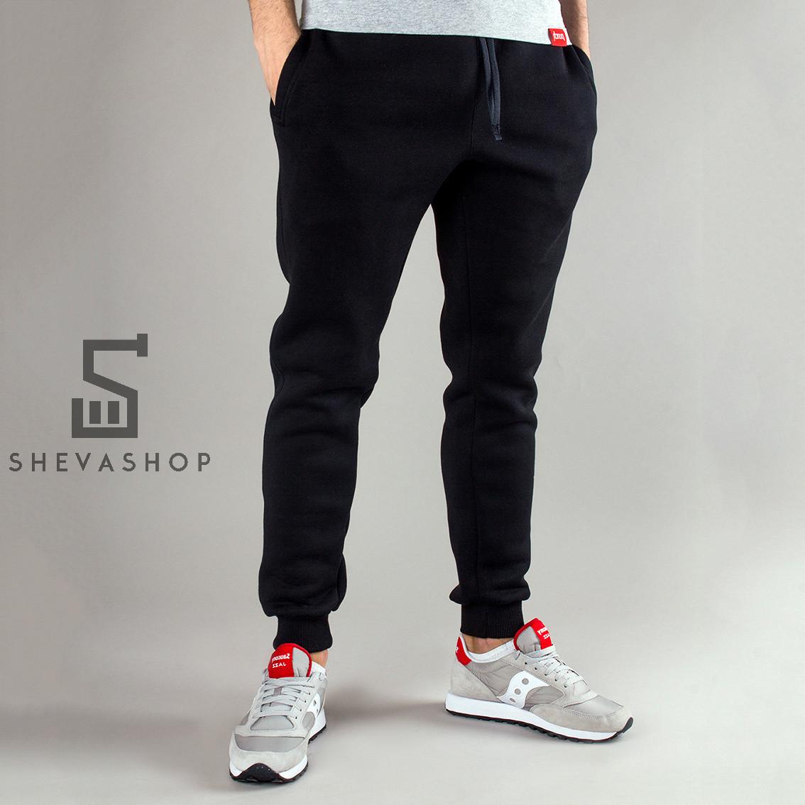 Теплые спортивные штаны PUNCH - Jog black, фото 1
