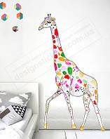"""Детская наклейка на стену """"Жираф"""""""