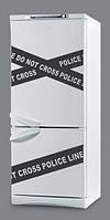 """Наклейка для кухни на холодильник """"Dont cross"""""""