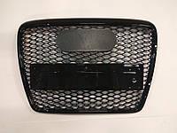 Черная решетка радиатора Audi RS6 2008-2012