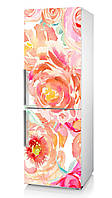 """Наклейка на холодильник для кухни """"Чайная роза"""""""