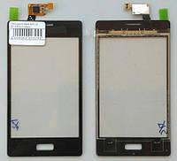 Сенсорный экран для LG E610/E6/L5 ll Black