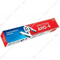 Электроды 'Вистек' АНО-4 4, 0 мм, 5 кг. (г.Артемовск) для низкоуглерод. марок стали