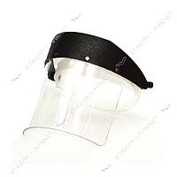 Щиток ZW-0000 НБТ стекло поликарбонат (толщина 1 мм), наголовник резинка