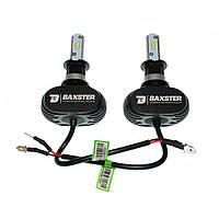 Автомобильные светодиодные лампы Baxster H3 6000K 4000Lm S1-Series (пара)