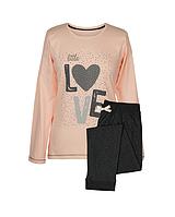 Піжама Muzzy Жіноча зі штанами LOVE 102