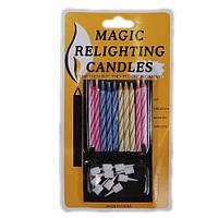 """Набор свечей для торта """"Magic"""" 10 шт. 6703"""