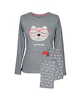 Піжама Muzzy Жіноча зі штанами Сонне Ведмежатко106
