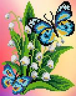 """Схема для вышивки """"Бабочка"""""""