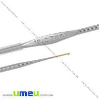 Крючок для вязания стальной Tulip (Япония), 0,7 мм, 1 шт (YAR-023446)