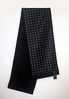 Мужской шарф, кашне из шёлка с хлопком