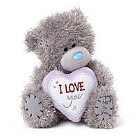 "Ведмедик Teddy MTY з серцем ""ILoveYou"""