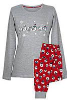 Піжама Жіноча зі штанами Новорічні Ведмедики Muzzy 110