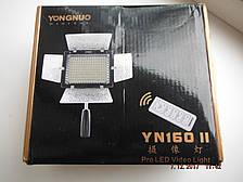 Светодиодный свет YONGNUO YN-160-II LED.микрофон